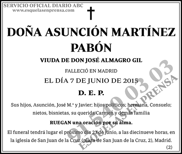 Asunción Martínez Pabón